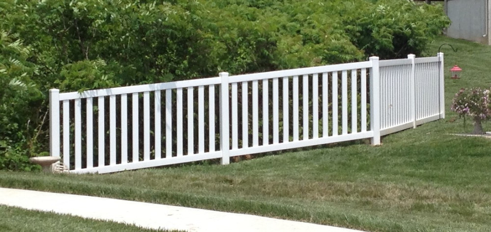 Heartland wholesale fence supply maintenance free vinyl